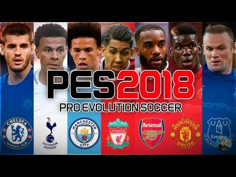 free shipping 5b33e 8a060 PES 2018 Option Files PS4 - All 2017-18 Kits and Premier League Kits