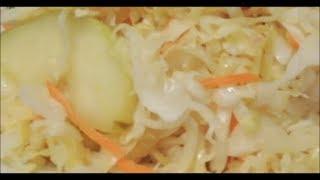 Рецепт очень вкусной домашней квашеной капусты