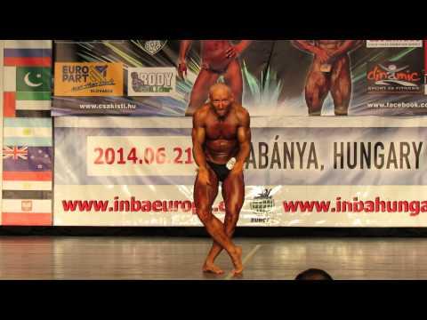 Vartek László INBA Natural Bodybuilding Magyar Bajnok 2014 Szabadpóz