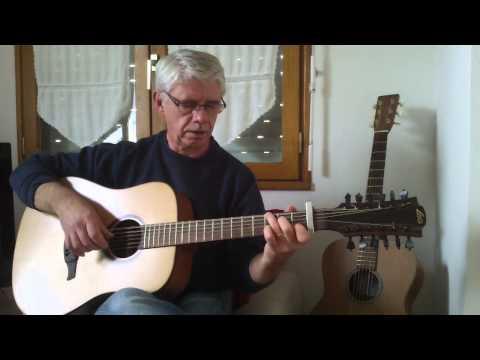 12 String Guitar - fingerstyle - Scarborough Fair