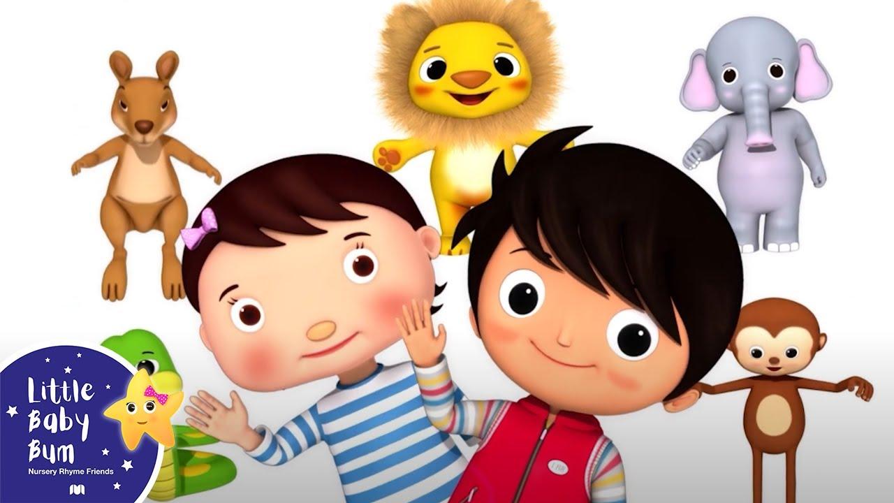 Zoo Song - Learn Animals Songs   Best Baby Songs   Kids Cartoon   Nursery Rhymes   Little Baby Bum