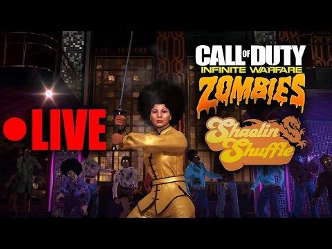 LIVE NUOVA MAPPA ZOMBIE SHAOLIN SHUFFLE [DLC 2 INFINITE WARFARE]
