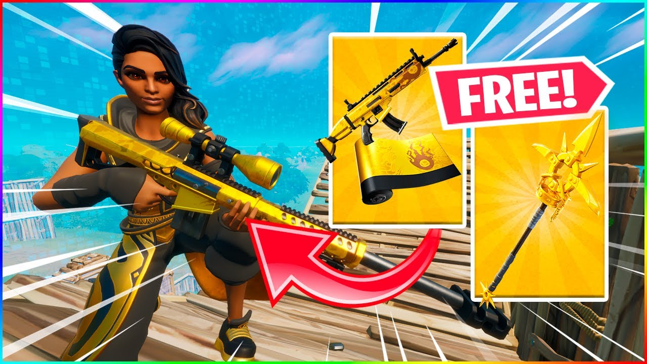 GRATIS PICKAXE OG WRAP I FORTNITE! - Dansk Fortnite