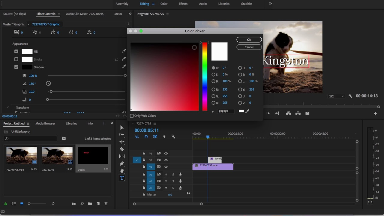 Adobe premiere pro cc 2018 how to create text easily youtube adobe premiere pro cc 2018 how to create text easily ccuart Choice Image