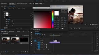 Metin Oluşturma Adobe Premiere Pro Kolayca 2018 CC -