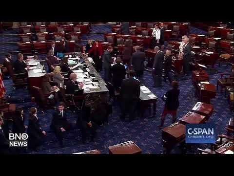 U.S. Senator Tammy Duckworth Takes Baby to Senate Floor