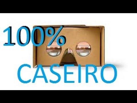 f4b0c1b9ce8 Oculos rift 100% caseiro google cardboard!!! - YouTube