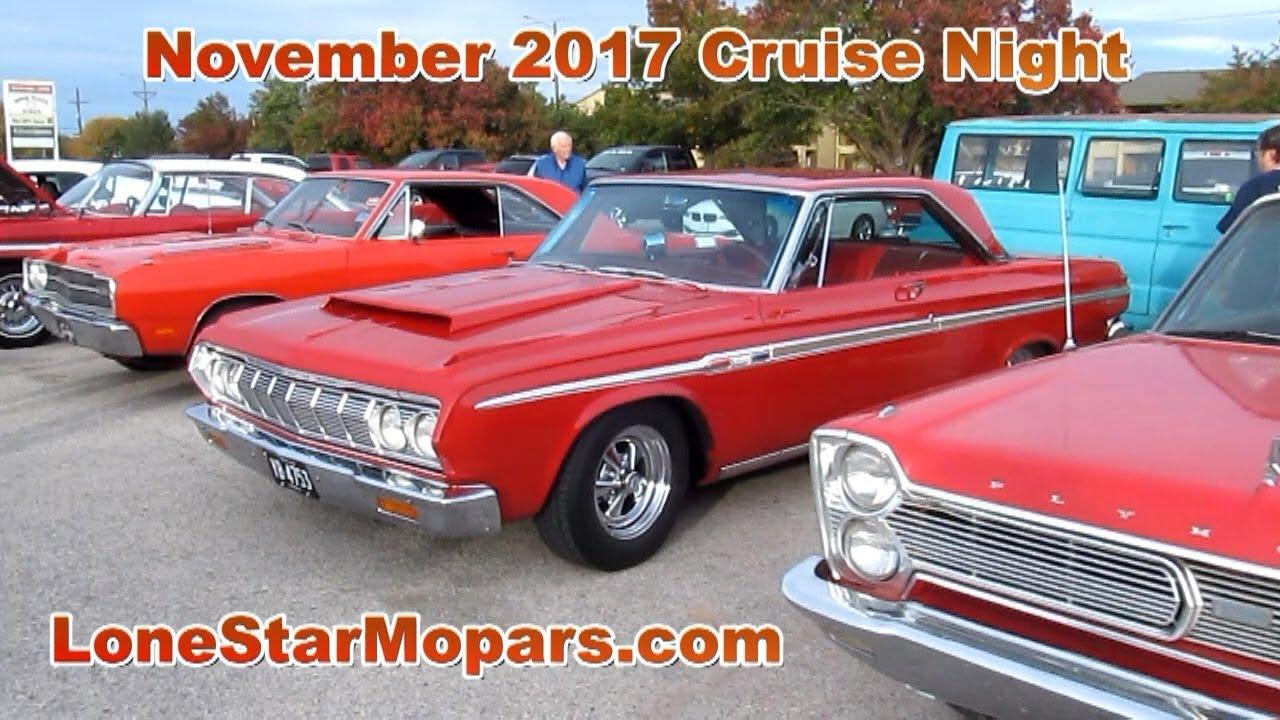 LSM November 2017 Cruise Night: Classic, Muscle Era, & Modern Mopars ...