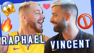 Raphaël et Vincent Queijo (Les Anges 10) : Complices mais secrets 😱