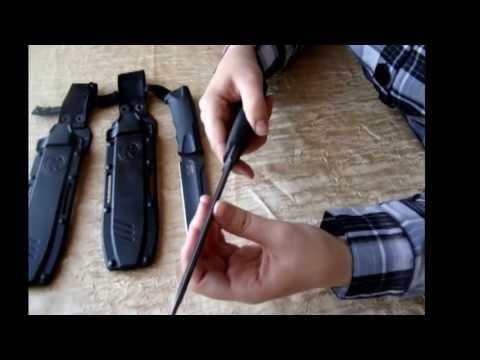 Ворон 3 и Кондор - обзор ножей фирмы Кизляр