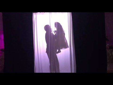 Father Daughter Silhouette Dance Quinceañera | Fairytale Dances