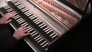 Prelude and Fugue No. 2 in c minor BWV 847, from WTC Book 1, J.S. Bach, played on the harpsichord