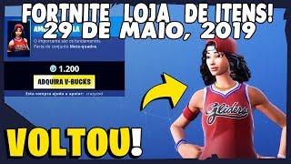 Shop Items Fortnite-today's shop 29/05/2019 back basketball Skins