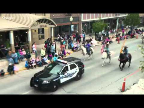 Helena's 2016 Vigilante Parade