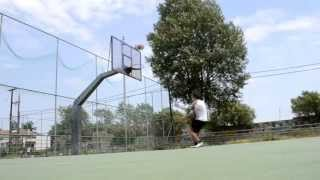 new dunk session philip 20 yrs old and xaroc 16 yrs old