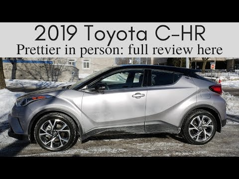 2019 Toyota C-HR Review | surprisingly great