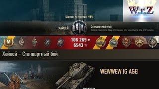 T95E6  Великолепно затащенный бой с эпическим концом!  Хайвей  World of Tanks 0.9.14 wot