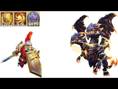 9 Sacred Light | Paladin | 12 Skill | Kills Demogoron | Castle Clash