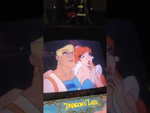 Dragon's Lair with Dexter and Merlin-Dx