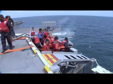 Gerald R. Ford (CVN 78) Builder's Sea Trials Highlights, April 2017
