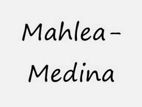 Medina - Mahlea lyrics