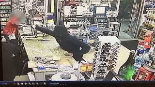 Armed robbery in New Orleans' Bywater neighborhood: Surveillance video
