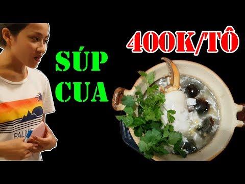 Choáng váng tô súp cua 400K mắc nhất sài gòn chỉ có duy nhất 1 càng cua