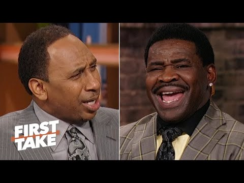 Michael Irvin accuses Stephen A. of being blasphemous for Cowboys snub | First Take
