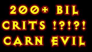 Diablo 3 200+ Billion Crits! CarnEvil PTR Witch Doctor Build Patch 2.4 !!!