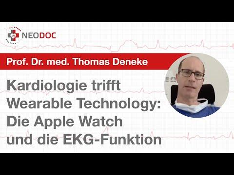 Prof. Dr. T. Deneke über den Nutzen, Vorhofflimmern mit der Apple Watch & der EKG App zu erfassen