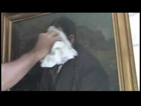 Cleaning Oil Painting With Bread