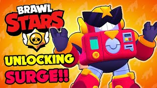 Brawl Stars - UNLOCKING SURGE!! Probably The Best Character??