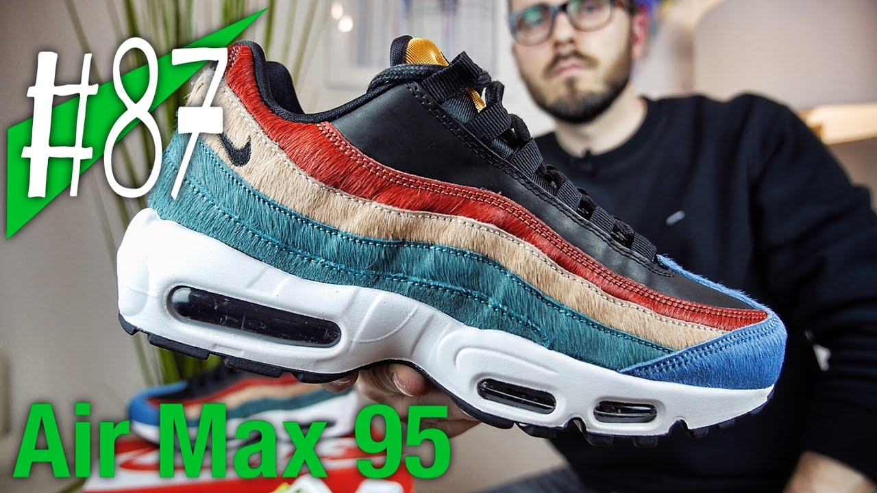 air max 95 multicolor