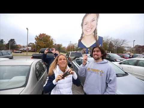Althoff Catholic High School girls voleyball state champs