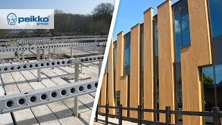DELTABEAM® and Composite Columns - AOC Oost School, the Netherlands