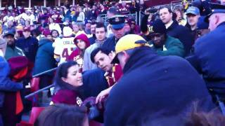 Redskins Vs. Vikings FAN fight