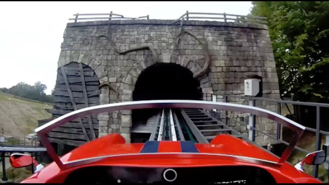 Verbolten on ride rider cam pov real roller coaster - Busch gardens williamsburg rides ...
