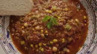 Chili Recipe - How To Make Vegetarian Chili