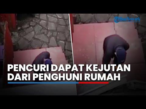 Lagi Asyik Bobol Pintu, Pencuri Ini Dapat Kejutan dari Pemilik Rumah