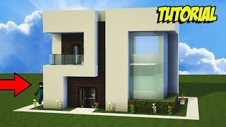 casa moderna survival minecraft para
