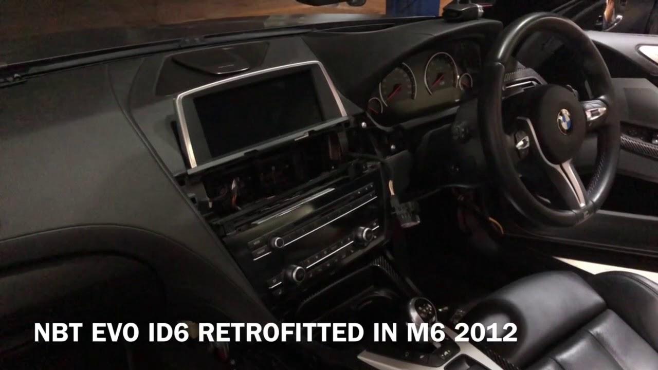 NBT EVO ID6 System Retrofitted in M6 2012
