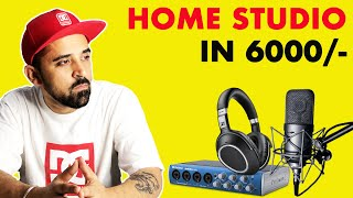 Home Studio Setup For Beginners In 6000/-   2020   In Hindi   BM 800 Microphone