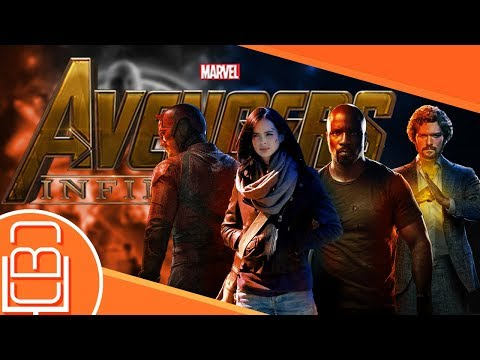 NO MCU TV and Avengers Infinity War Corssover & More CBC