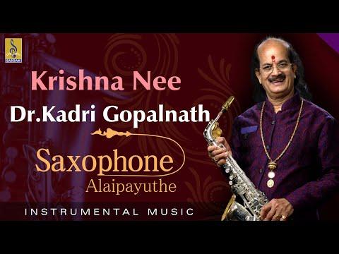 Krishna nee - Thrilling Saxophone by Dr Gopalnath