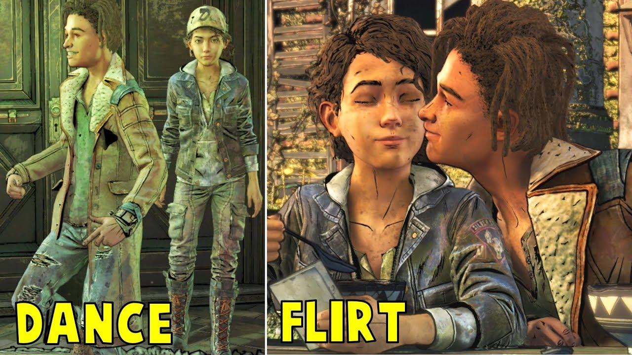 Download Louis Dancing, Flirting & Funny Moments - The Walking Dead The Final Season Episode 1-4