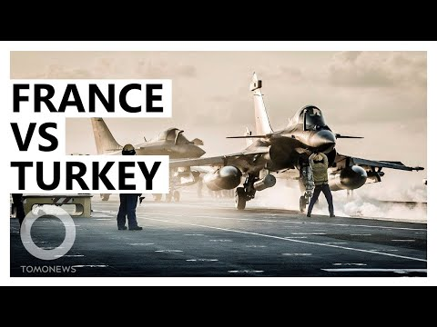 France vs Turkey: Macron Sends Navy to Eastern Mediterranean