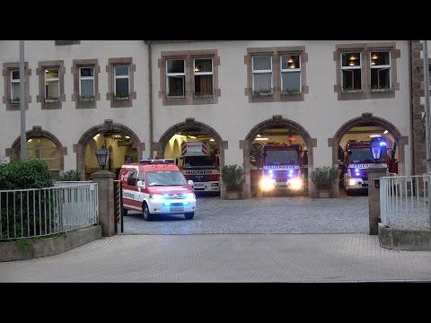 Löschzug + SLF BF Nürnberg FW 1