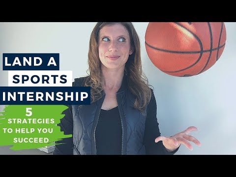 How to Get an Internship in Sports  |  The Intern Hustle