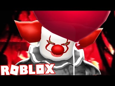 CHASED THROUGH THE SEWERS BY PENNYWISE! | Roblox IT THE CLOWN