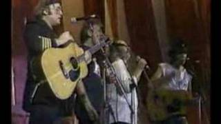 Crosby, Stills, Nash and Young live aid two songs